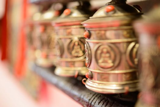 tibetan prayer wheel