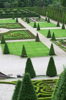 Elaborate formal garden