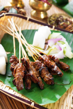 Satay Southeast Asia food