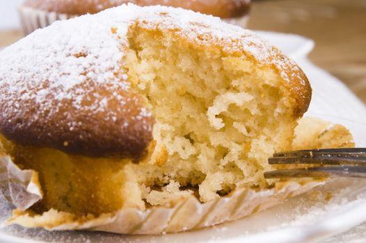 Freshly baked muffins