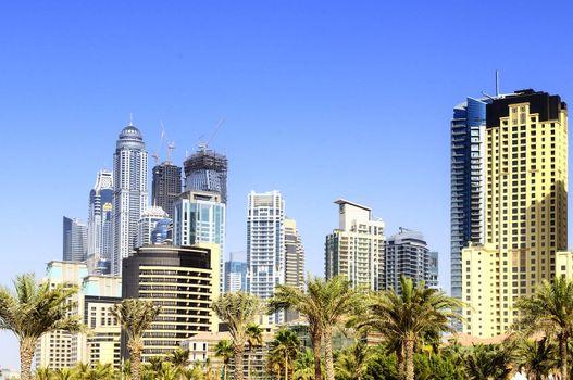 Dubai city, Marina District