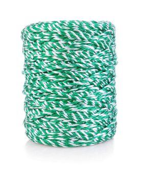 green-white string