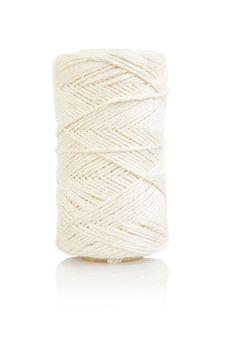 roll of white string