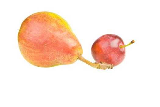 Pear and plum