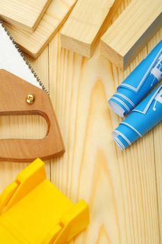 saw blueprints timber
