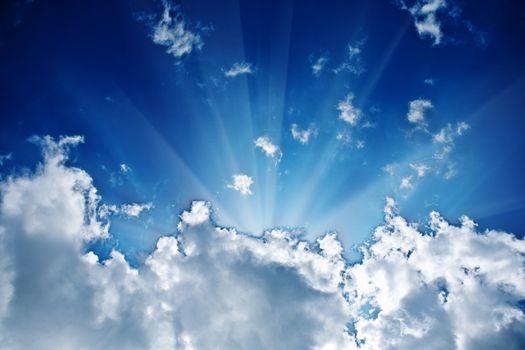 sunbeam in the cloud