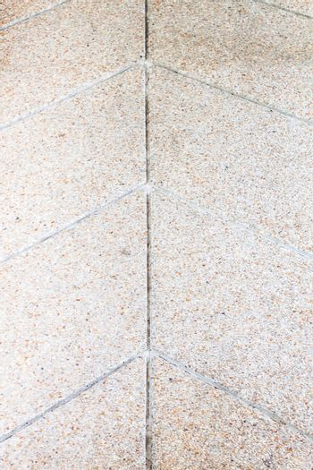Sand stone foot path texture with slip protection lines