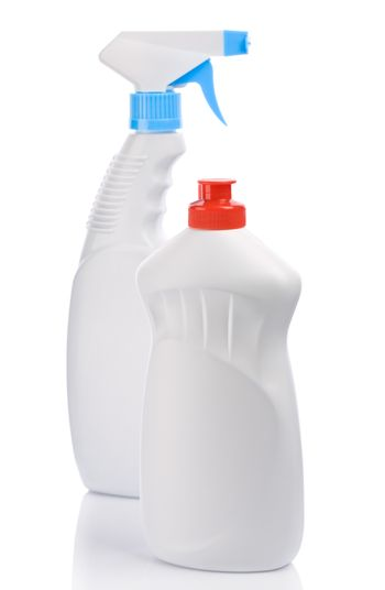 spray and bottle