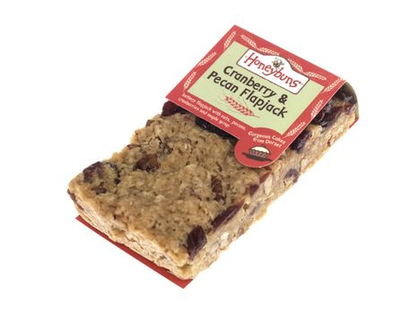 Cranberry and Pecan Flapjack