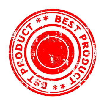 Best product concept stamp