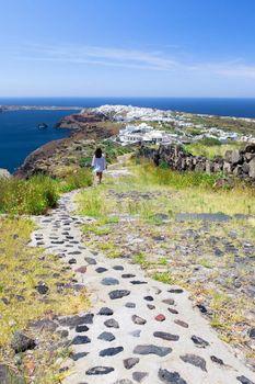 Santorini Path