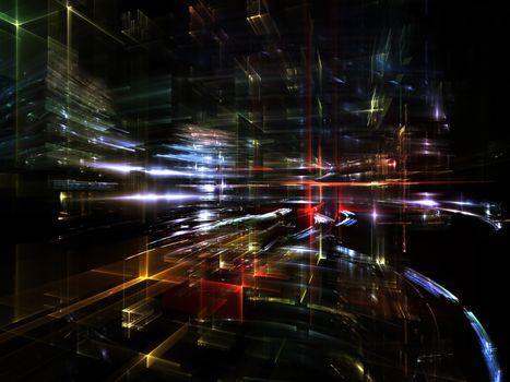 Voyages to Fractal Metropolis