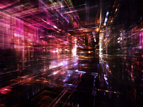 Vision of Fractal Metropolis