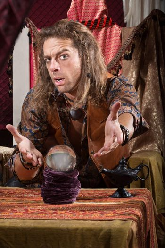 Gesturing Fortune Teller