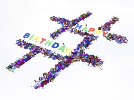 Happy Birthday Hashtag