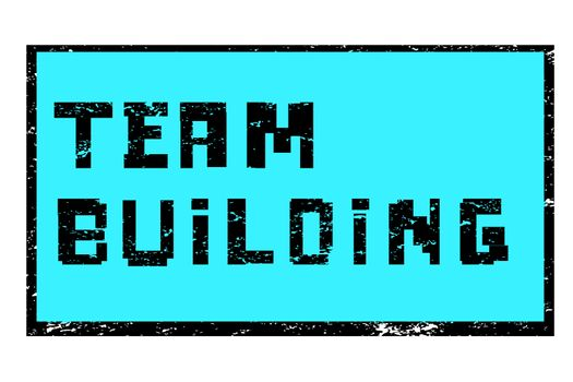 team building pixel stamp