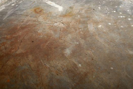 Grungy concrete floor texture