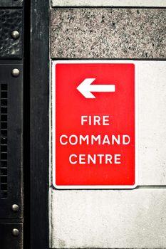 Fire command centre