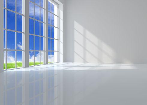 Large window