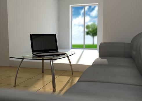 Notebook and quiet room