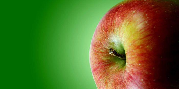 Red apple brochure