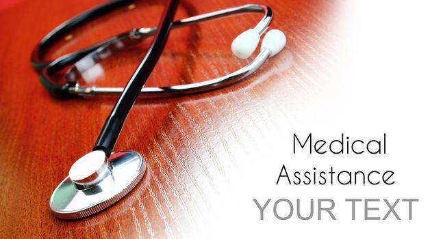 Medical assistance background