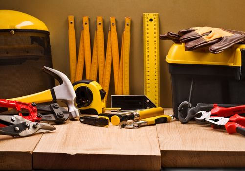 composition of working tools