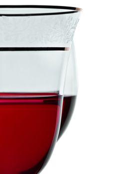 wineglass closeup