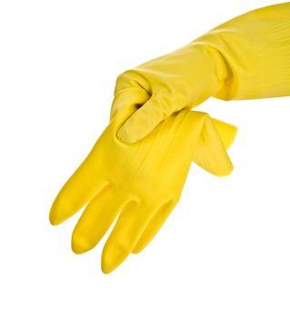 hand in glove with glove