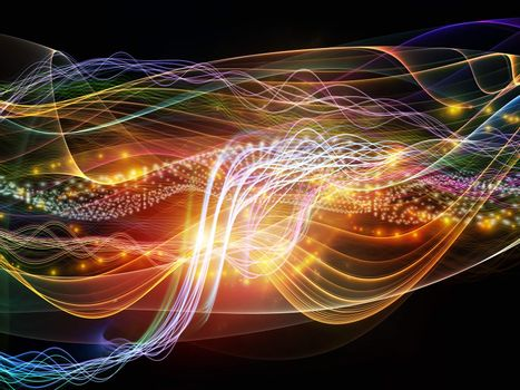 Lights of Dynamic Waves