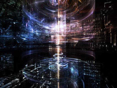 Advance of Fractal Metropolis