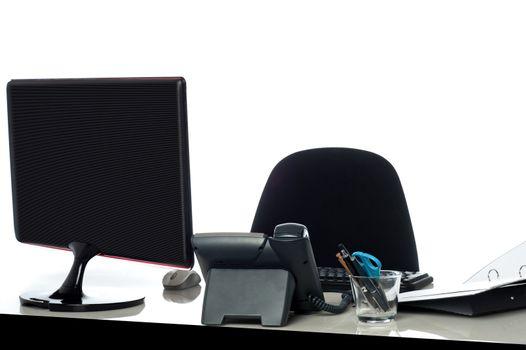 Modern business workplace