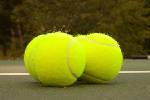 Yellow Tennis Balls - 16
