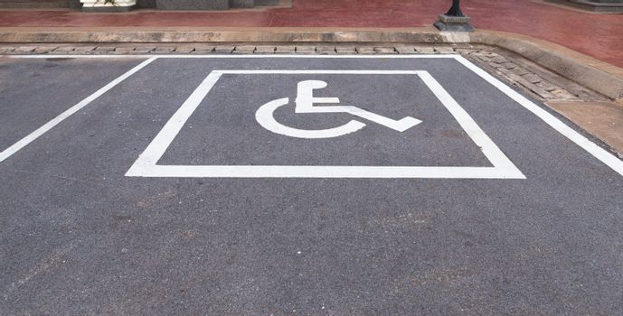 Disable Parking slot in a park
