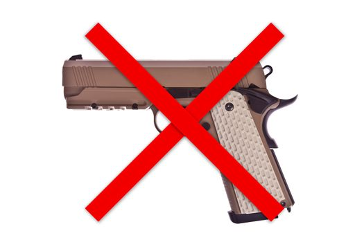 No weapon allowed