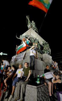 Bulgaria protest parliament