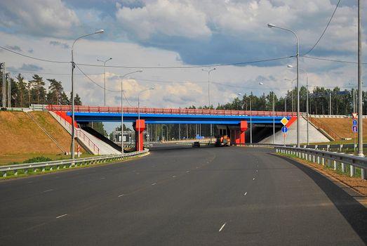 Junction of the motorway.