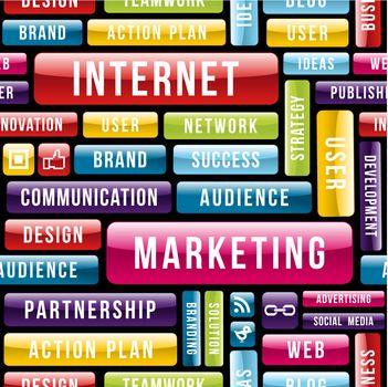 Internet Marketing tech pattern