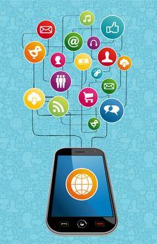 Global social media mobility