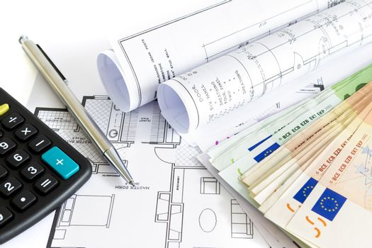 Money to invest for a house concept