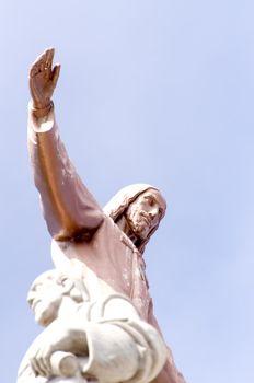 Statue of Jesus Christ in Barcelona