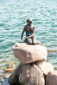 The Little Mermaid of Copenhagen Denmark