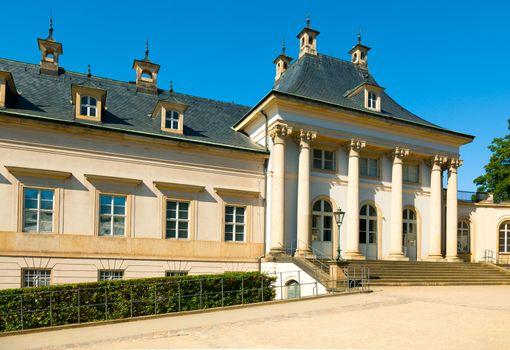 Summer residence of the Saxon royal family. Pillnitz, Dresden