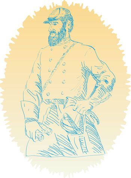 American Civil War Union officer