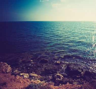 view of sea cost