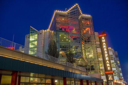 Chicago Shakespeare theater.