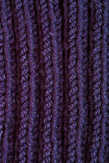 knitted blue wool texture