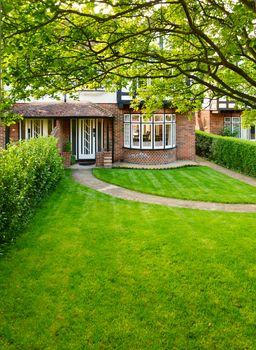 English front garden