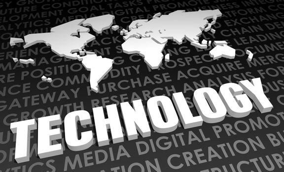 Technology Industry Global Standard on 3D Map