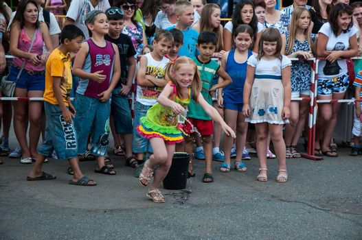 Competitions on water transport on the holiday of Ivan Kupala